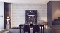 Online design Modern Dining Room by Mladen C thumbnail