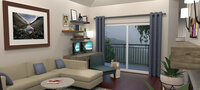 Online design Eclectic Living Room by Emily A. thumbnail