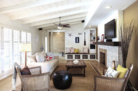 Online design Beach Living Room by Corine M. thumbnail
