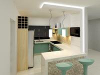 Online design Modern Kitchen by Helena B. thumbnail