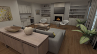 Online design Modern Living Room by Mika S. thumbnail