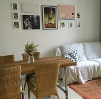Online design Eclectic Combined Living/Dining by Hannah D. thumbnail