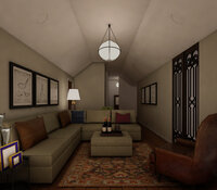 Online design Traditional Living Room by Hannah D. thumbnail