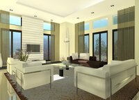 Online design Modern Living Room by Noraina Aina M. thumbnail