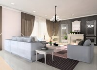Online design Glamorous Living Room by Noraina Aina M. thumbnail