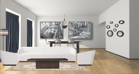 Online design Contemporary Combined Living/Dining by Tiffanie B. thumbnail