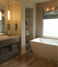 Online design Contemporary Bathroom by Hanieh A. thumbnail
