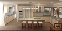 Online design Transitional Kitchen by Hanieh A. thumbnail