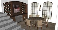 Online design Beach Dining Room by Hanieh A. thumbnail