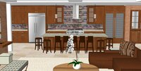 Online design Traditional Kitchen by Hanieh A. thumbnail