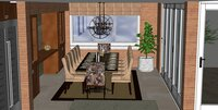 Online design Traditional Dining Room by Hanieh A. thumbnail