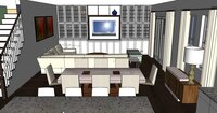 Online design Contemporary Living Room by Hanieh A. thumbnail