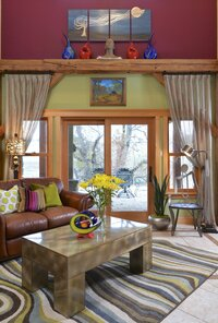Online design Eclectic Living Room by Megan K. thumbnail