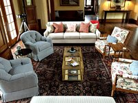 Online design Traditional Living Room by Danielle A. thumbnail