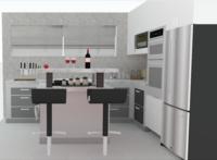 Online design Modern Kitchen by Alberthe B. thumbnail