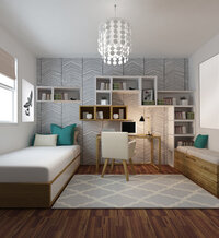Online design Contemporary Bedroom by Serena Z.  thumbnail