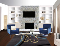 Online design Contemporary Living Room by Merry M. thumbnail