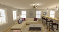 Online design Modern Living Room by Merry M. thumbnail