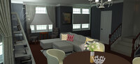 Online design Modern Combined Living/Dining by Merry M. thumbnail