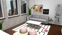 Online design Contemporary Living Room by Breanna W. thumbnail