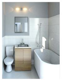 Online design Contemporary Bathroom by Breanna W. thumbnail