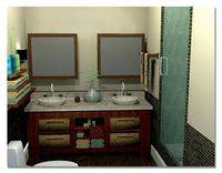 Online design Contemporary Bathroom by Jennie F thumbnail
