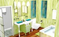Online design Eclectic Bathroom by Jennie F thumbnail