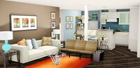 Online design Eclectic Living Room by Jennie F thumbnail