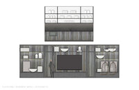 Online design Eclectic Combined Living/Dining by Michelle P. thumbnail