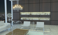 Online design Modern Combined Living/Dining by Jereme S. thumbnail