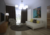 Online design Contemporary Living Room by Nika R. thumbnail