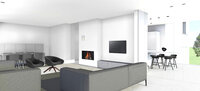 Online design Contemporary Combined Living/Dining by Lola C. thumbnail