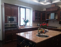 Online design Transitional Kitchen by Natalie T. thumbnail