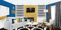 Online design Contemporary Living Room by Aaliyah M. thumbnail