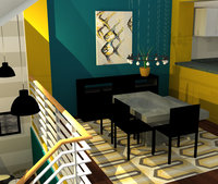 Online design Contemporary Dining Room by Tabitha M thumbnail