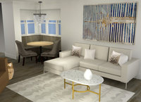 Online design Glamorous Combined Living/Dining by Tabitha M thumbnail