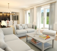 Online design Country/Cottage Living Room by Eleni P thumbnail