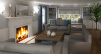 Online design Transitional Living Room by Eleni P thumbnail