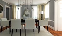 Online design Transitional Dining Room by Eleni P thumbnail