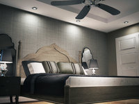 Online design Transitional Bedroom by Christine M. thumbnail