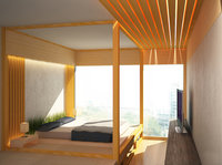 Online design Contemporary Bedroom by Olive T thumbnail