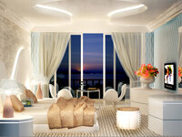 Online design Glamorous Bedroom by Olive T thumbnail