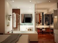 Online design Modern Bathroom by Olive T thumbnail