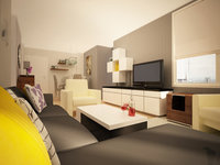 Online design Contemporary Living Room by Olive T thumbnail