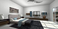 Online design Contemporary Bedroom by Daisy d A thumbnail
