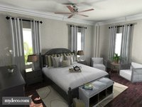 Online design Traditional Bedroom by Daisy d A thumbnail