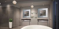 Online design Modern Bathroom by Vicki O thumbnail
