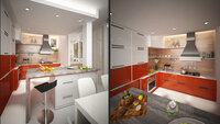 Online design Contemporary Kitchen by Sara T thumbnail