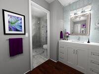 Online design Transitional Bathroom by Rachel H. thumbnail