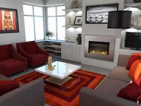 Online design Modern Living Room by Rachel H. thumbnail